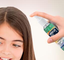 Spray repelente de piojos